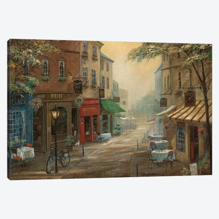 Bogey's Pub Canvas Print #RUA163} by Ruane Manning Canvas Art Print