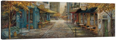 Embracing City Charm Canvas Art Print