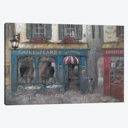 Favorite Getaway Canvas Print #RUA169} by Ruane Manning Art Print