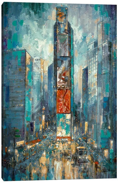 City Of Lights Canvas Art Print