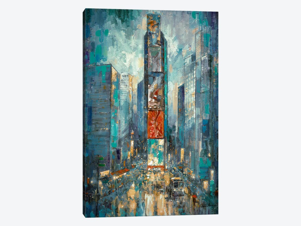 City Of Lights by Ruane Manning 1-piece Canvas Print