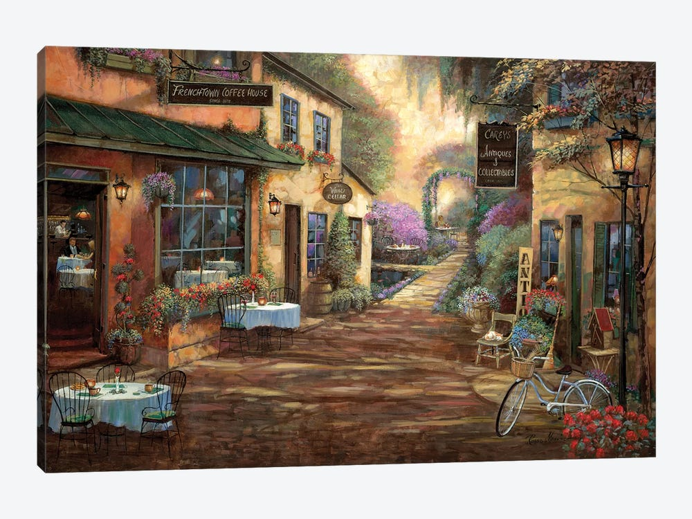 French Town by Ruane Manning 1-piece Canvas Art
