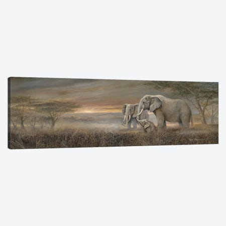 Gentle Giants Canvas Print #RUA174} by Ruane Manning Art Print