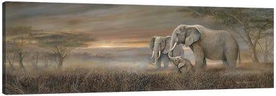 Gentle Giants Canvas Art Print