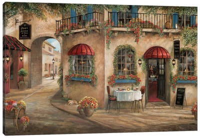 Gino's Pizzaria Canvas Art Print