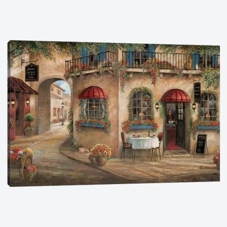 Gino's Pizzaria 3-Piece Canvas #RUA175} by Ruane Manning Canvas Art Print