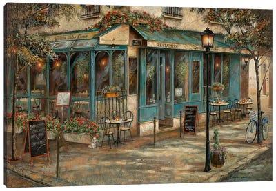 Jardin de Notre Dame Canvas Art Print