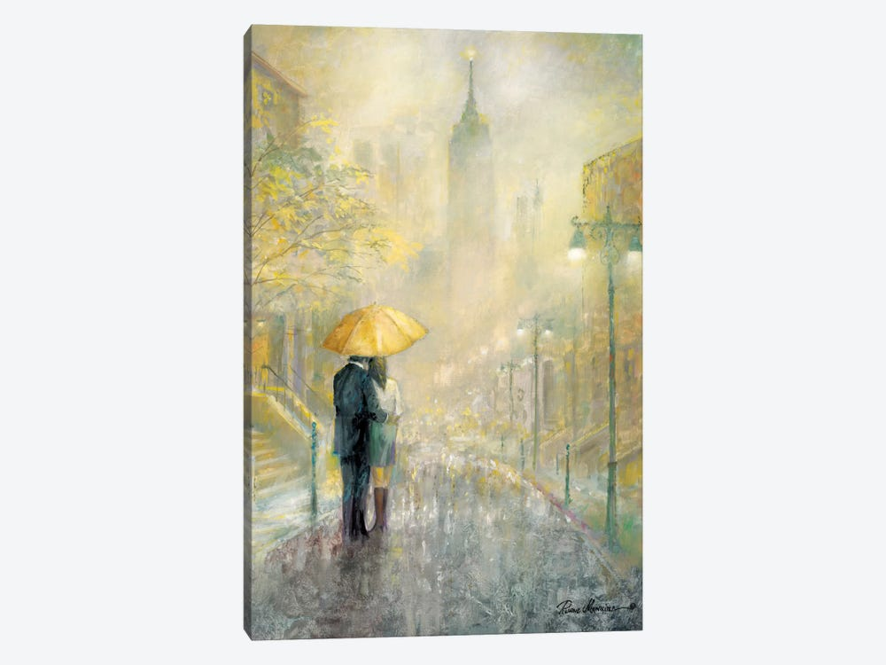 City Romance I by Ruane Manning 1-piece Canvas Wall Art