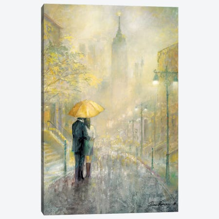 City Romance I Canvas Print #RUA17} by Ruane Manning Canvas Art Print