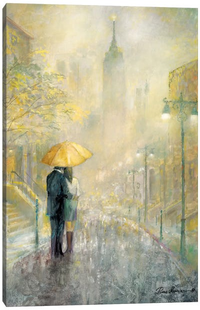 City Romance I Canvas Art Print