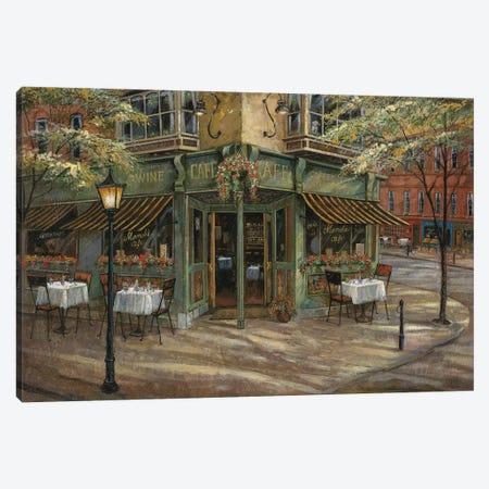 Mandi's Café Canvas Print #RUA180} by Ruane Manning Art Print