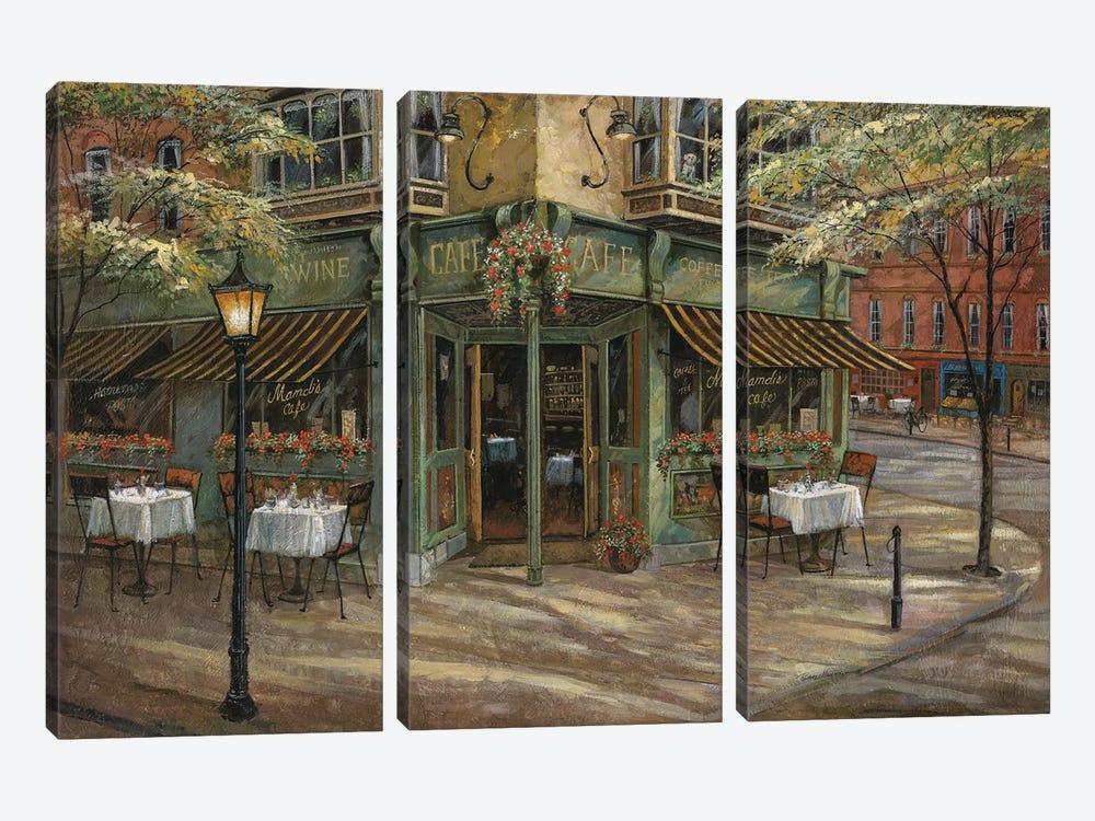 Mandi's Café by Ruane Manning 3-piece Art Print
