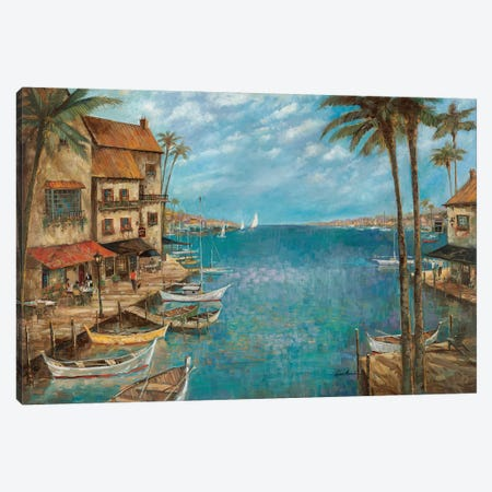 Mediterranean Splendor Canvas Print #RUA181} by Ruane Manning Canvas Print