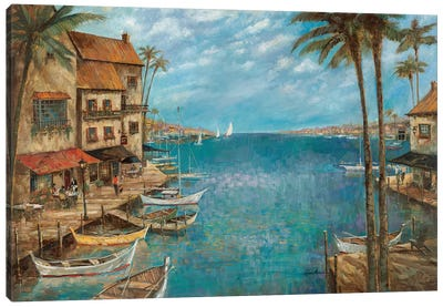 Mediterranean Splendor Canvas Art Print