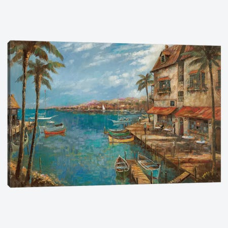 My Favorite Pub Canvas Print #RUA182} by Ruane Manning Canvas Print