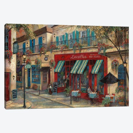 My Kinda Town Canvas Print #RUA183} by Ruane Manning Art Print