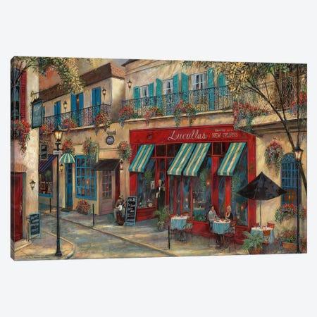 My Kinda Town Canvas Print #RUA183} by Ruane Manning Art Print