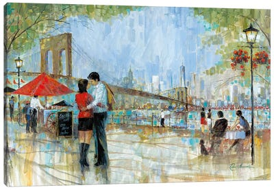 New York Romance II Canvas Art Print