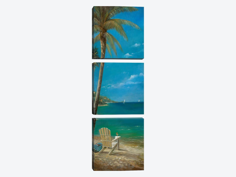 Poetry & Gentle Breezes by Ruane Manning 3-piece Canvas Wall Art