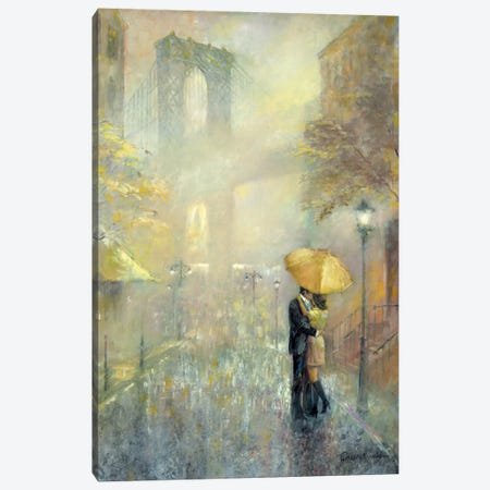 City Romance II Canvas Print #RUA18} by Ruane Manning Canvas Art