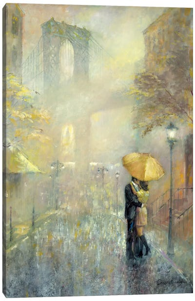 City Romance II Canvas Art Print