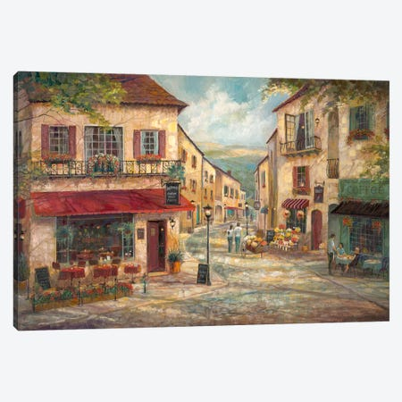 Salvatore's Canvas Print #RUA193} by Ruane Manning Canvas Wall Art