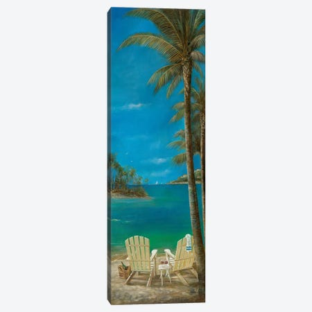 Tropical Getaway Canvas Print #RUA198} by Ruane Manning Canvas Wall Art