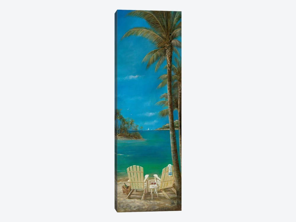 Tropical Getaway by Ruane Manning 1-piece Canvas Artwork