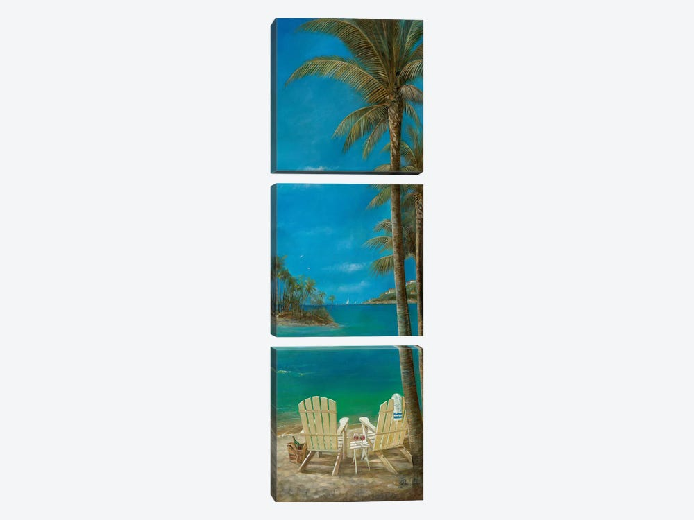 Tropical Getaway by Ruane Manning 3-piece Canvas Art