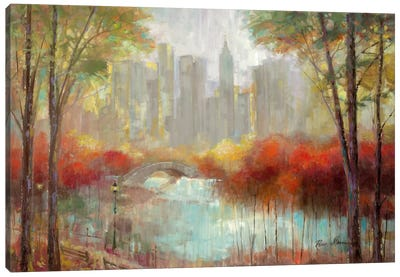 City View Canvas Art Print