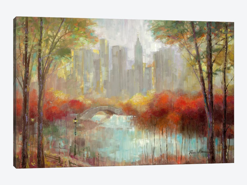 City View by Ruane Manning 1-piece Canvas Wall Art