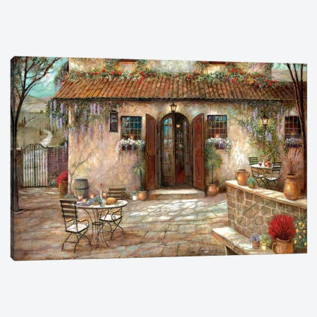 Villa Claretta Canvas Print #RUA200} by Ruane Manning Canvas Art