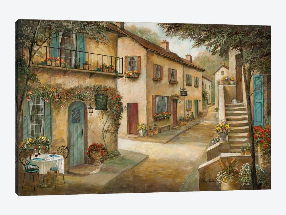 Village Charm & Serenity by Ruane Manning 1-piece Canvas Art