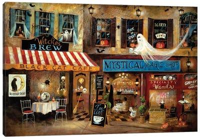 Mystical Magic Shop Canvas Art Print