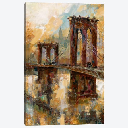 Crossing Meadows Canvas Print #RUA21} by Ruane Manning Art Print