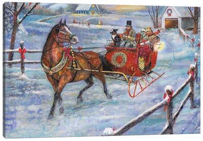 Sleigh Bells Canvas Art Print