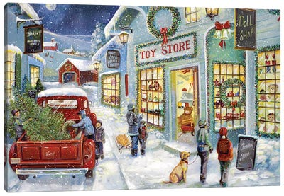 Toy Shop Canvas Art Print