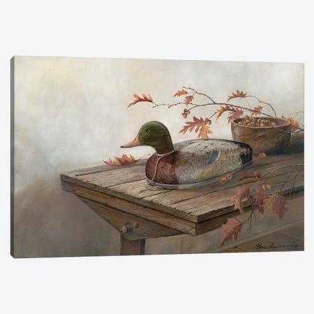Acorn Harvest Canvas Print #RUA224} by Ruane Manning Art Print