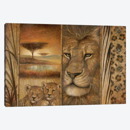 Africa's Tapestry Canvas Print #RUA226} by Ruane Manning Canvas Art Print