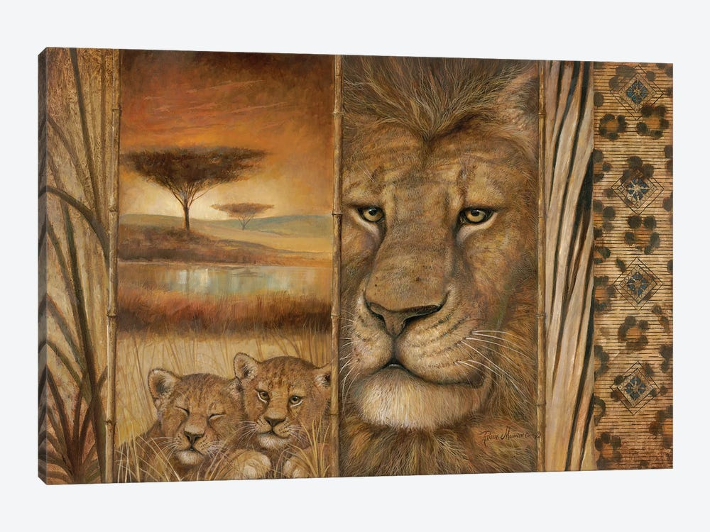 Africa's Tapestry by Ruane Manning 1-piece Canvas Print