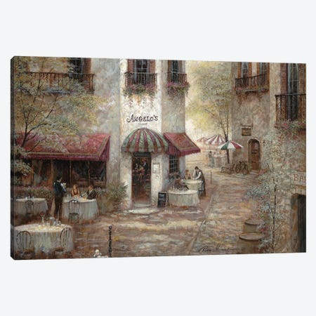 Angelo's Canvas Print #RUA228} by Ruane Manning Canvas Art