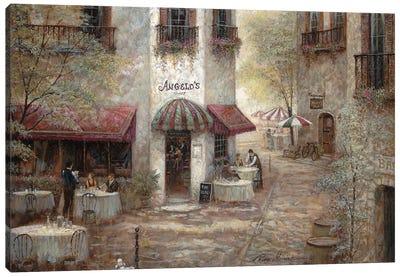 Angelo's Canvas Art Print
