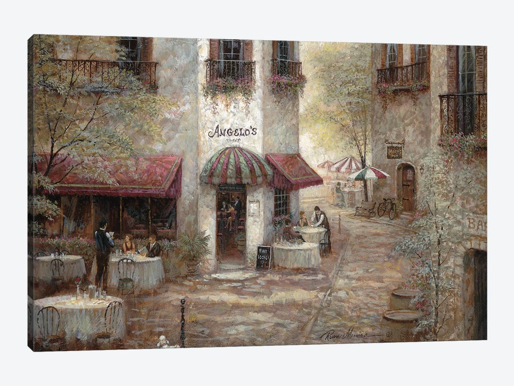 Angelo's by Ruane Manning 1-piece Canvas Print