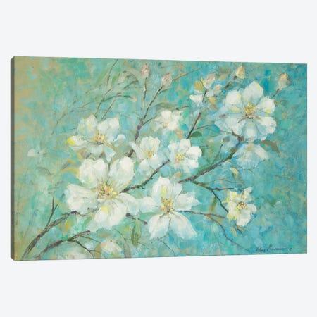 Apple Blossoms Canvas Print #RUA229} by Ruane Manning Canvas Art