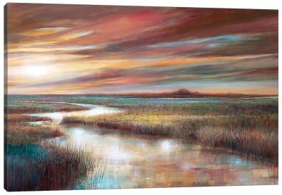 Cape Sunset Canvas Art Print