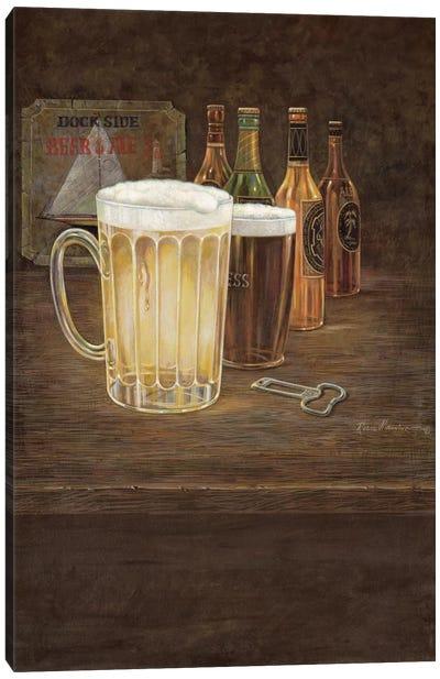 Dockside Beer Canvas Art Print