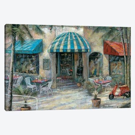 Christine's South Beach Café Canvas Print #RUA241} by Ruane Manning Canvas Art