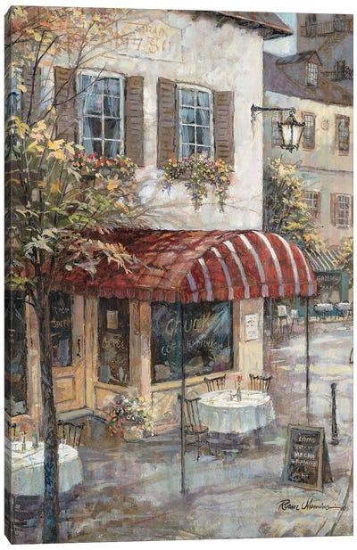 Coffee House Ambiance Canvas Art Print