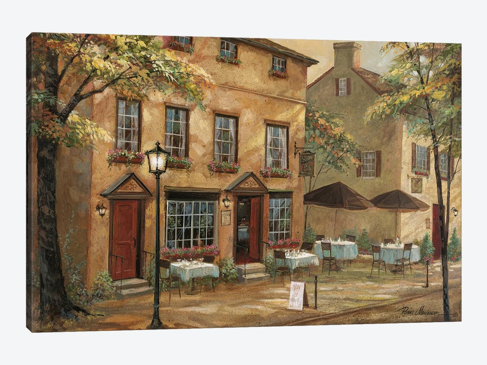 Colleen's Pub by Ruane Manning 1-piece Canvas Wall Art