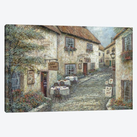 David's Court Canvas Print #RUA246} by Ruane Manning Canvas Print